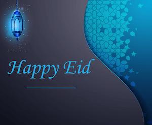 Eid Aladha greeting - English 3