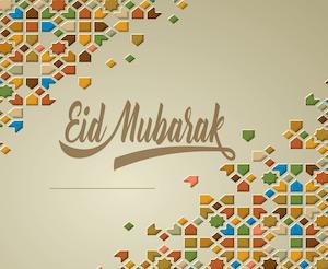 Eid greeting - English 4